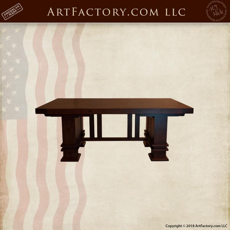 Frank Lloyd Wright Table With Leaf