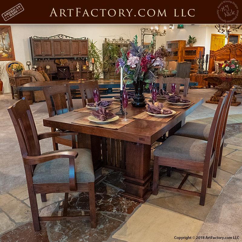Frank Lloyd Wright Husser House Table