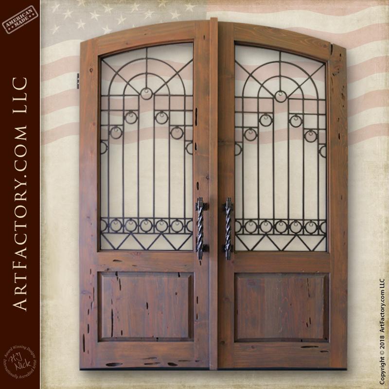 custom European entrance gates