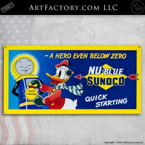 disney donald duck nu blue sunoco