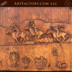 Custom Hand Carved Saloon Doors