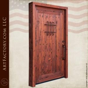 Castle Door with Speakeasy Grill