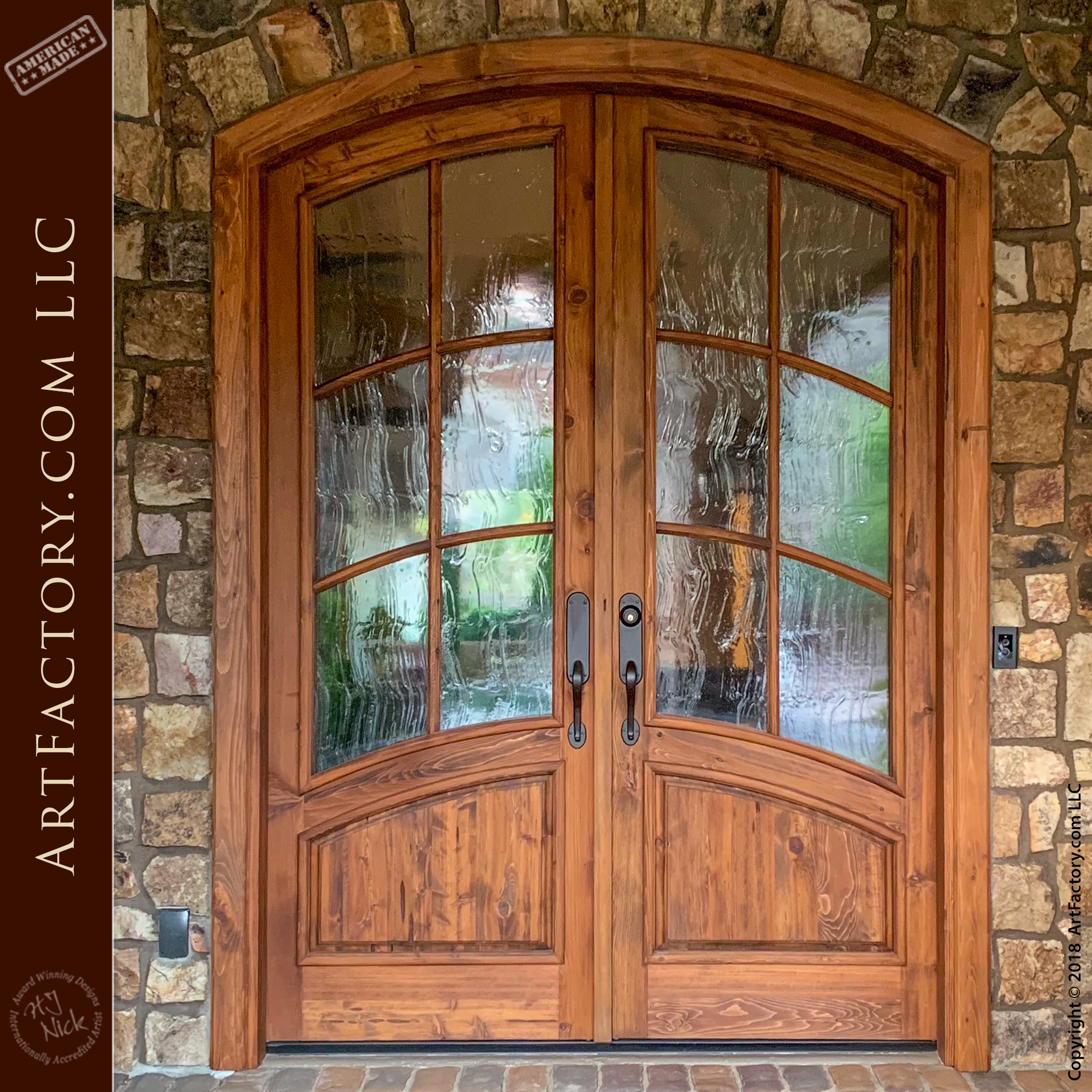 Art Nouveau Custom Doors