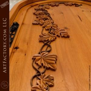 Grape Vine Arch Door