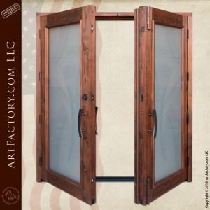 Art Deco Double Doors