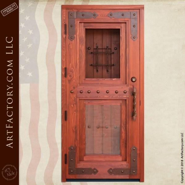 Craftsman Double Security Door