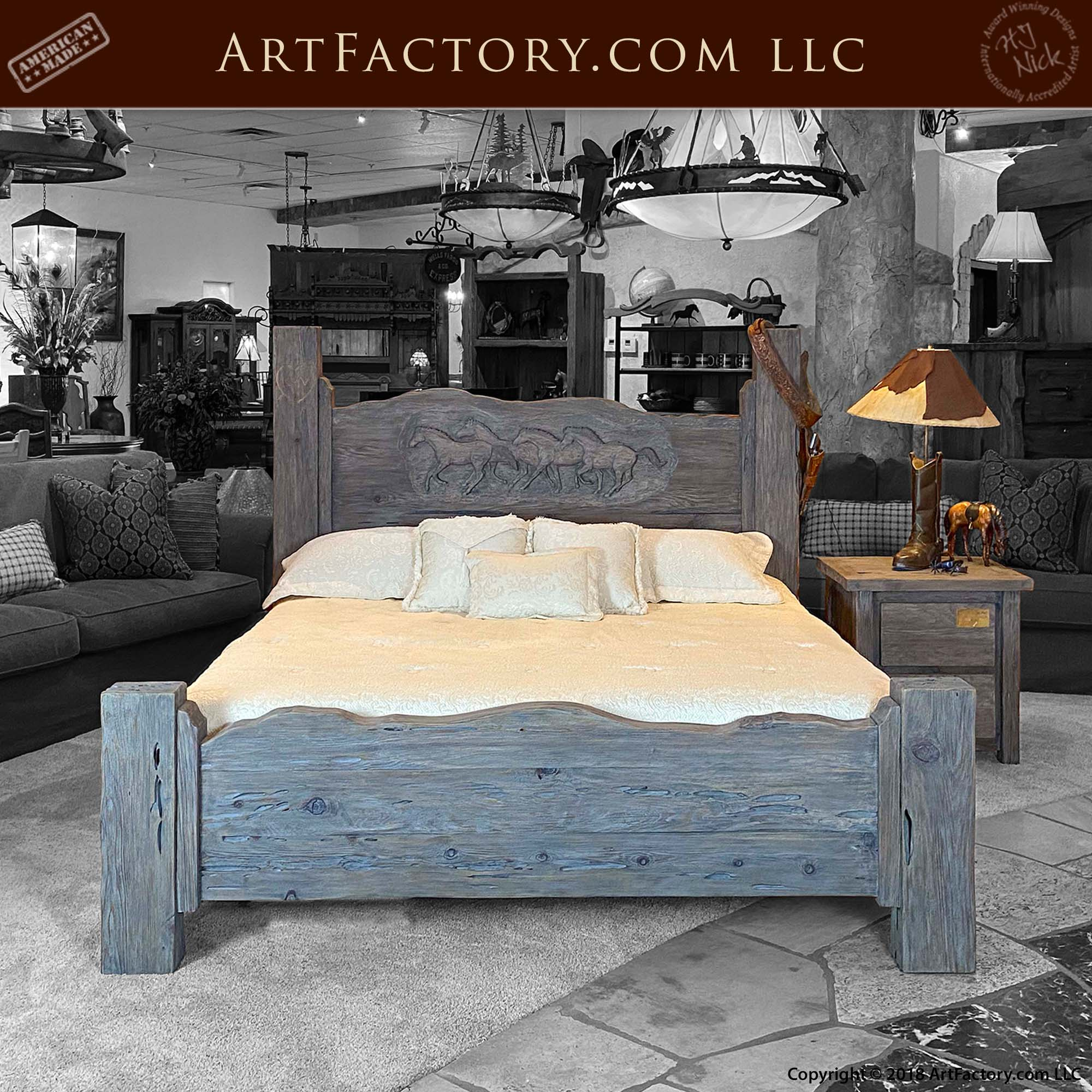 Fine Art Western Bedroom Set