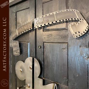 H.J. Nick studios decorative iron overlay