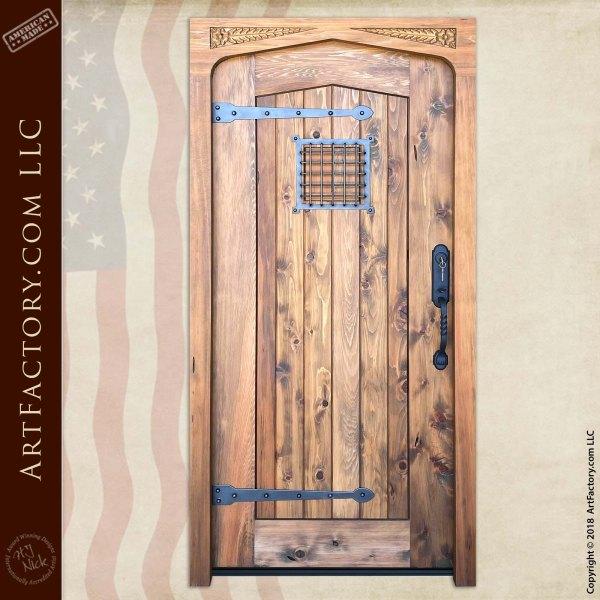 Custom Tudor Arch Door