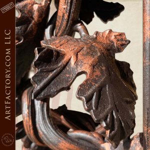 Grapevine Themed Decorative Shelf Brackets