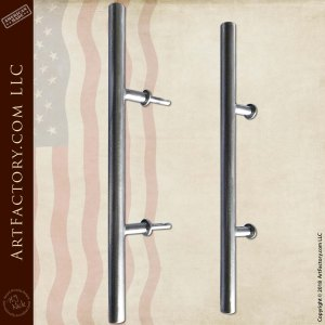 Contemporary Solid Round Door Pulls