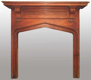 Craftsman Fireplace Mantel Historic Designs   - FPM01101