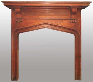 Craftsman Fireplace Mantel Historic Designs   - FPM01101