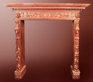 Fire Place Mantle - Designs From The Historical Record- FPM01102