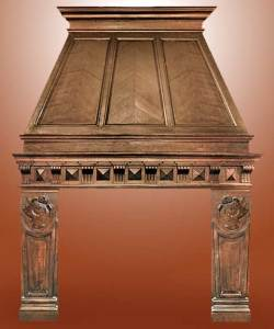 Fire Place Mantle - Designs From The Historical Record-FPM01108