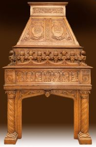 Fire Place Mantle - Designs From The Historical Record- FPM01113