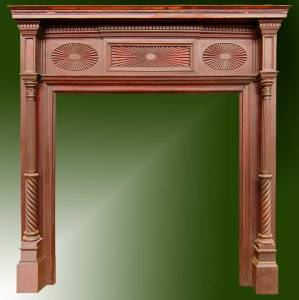 Fire Place Mantle - Designs From The Historical Record- FPM01115