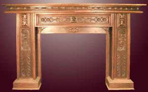 Fire Place Mantle - Designs From The Historical Record- FPM01120