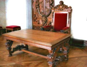 Office Table - Huissier de Justice 18th Cen France  HTJ320