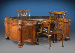 Partners Desk  - Desk Designs From History - CDJ0301