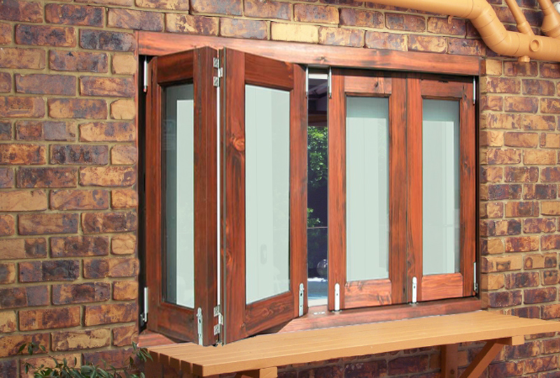 Bi Fold Windows  - Open Wall To Nature With One Touch - WIN2269