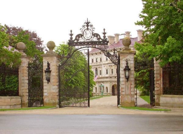 Wrought Iron Gates - Customer Provided Photo -  GEG56