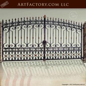 Victorian Ornamental Double Gate