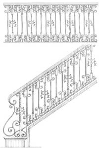 Stair Railing Designs ISR647