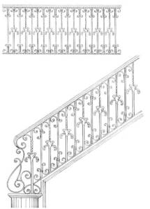 Stair Railing Designs ISR648