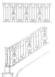 Stair Railing Designs  - ISR650
