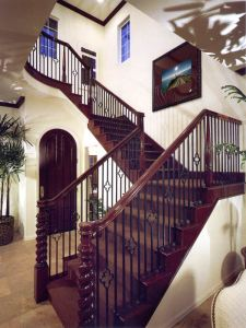 Stair Railing - Design From Historical Record - CHTR3