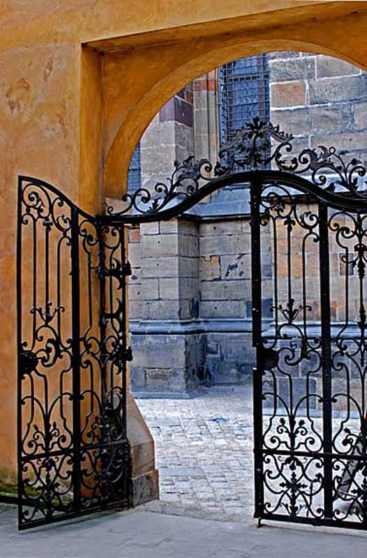 Iron Gate - Prague Castle Designer Gates - 1259CGT