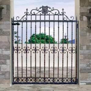 Entry Gate - Lullingstone Castle 15th Cen Gates - 7008IG