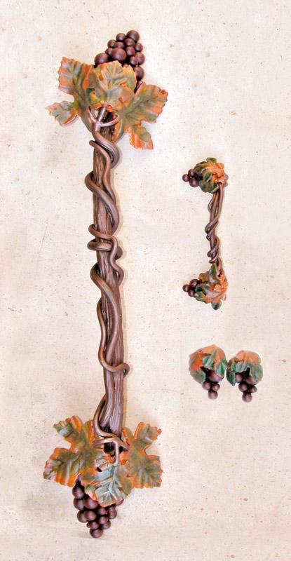 Cabinet Pulls - Custom Grape Clusters - HH0168B