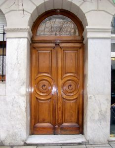 Arched Entry - Design From Antiquity -  HRD099
