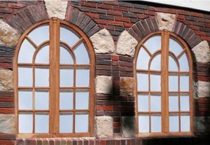 Custom Arched Windows - Design From Antiquity - HRW113