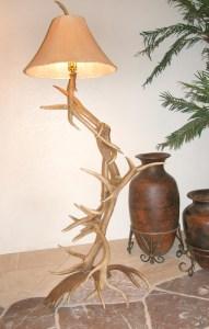 Floor Lamp - Natural Antler Lighting Decor -  LF630