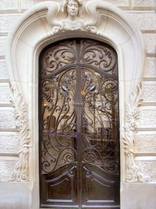 Custom Gates - Design From Antiquity - HRG2389