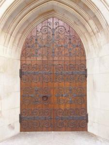 Church Door  Historic Design 18th Cen - AD3451