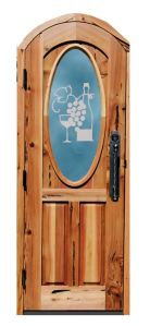 Custom Made Wine Door Castle De Monte Italy  - 6384GP
