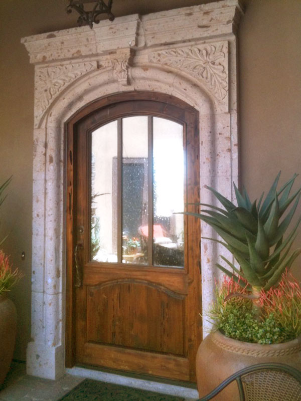 Arched Door- Chateau de Puymartin 13th Cen - 8002GP