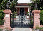 Garden Gates - Matching To Drive Way Estate Gates -  1296GG