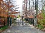 Gate - Private Estate Gates In Wrought Iron  - PEG9876