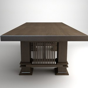 Husser Desk - Design From Historic Record - FWD78