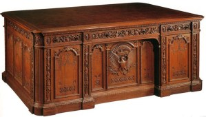 Resolute Desk - For Pres. Rutherford B. Hayes 1880 - PF1792