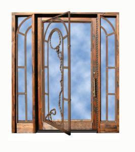 Custom Glass Entry Door Castle of Ciergnon In Belgium - 6990WI