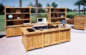 Custom Office Furniture - America Arts & Craftsman - SWWS150A