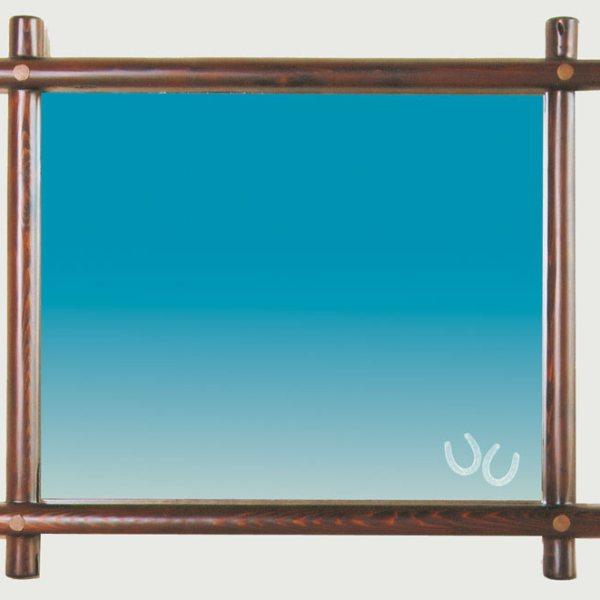 Mirror Wall Mount Western Design - CBM639