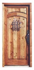 Custom Door With Speakeasy And Grill Ashford Castle  - 5014RP