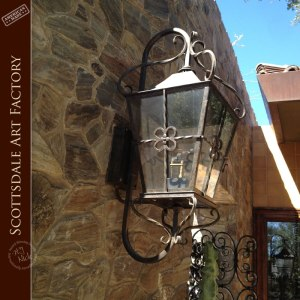 Wall Sconce  Hand Forged Wrought Iron - LS899